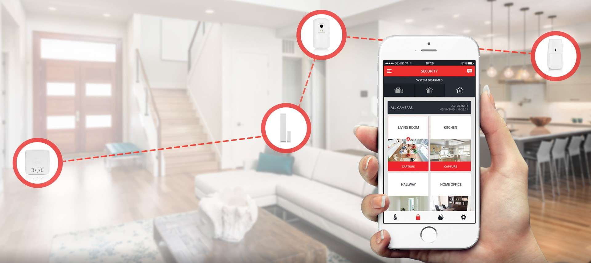 Honeywell Home Security App